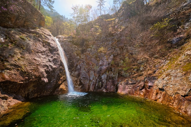 Wodospad biryong falls