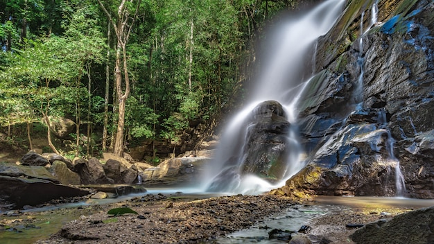 Wodospad cliff creek