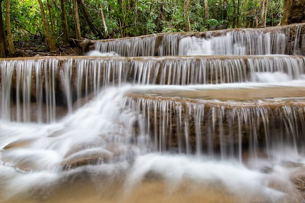 Wodospad huai mae khamin
