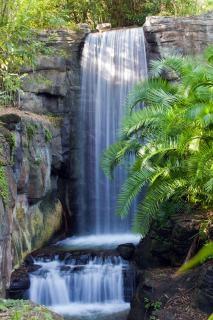 Wodospad płynący