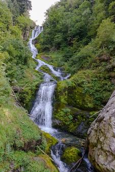 Wodospad saut w valle pesio