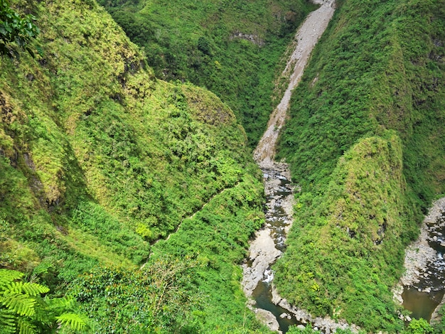 Wodospad w banaue, filipiny