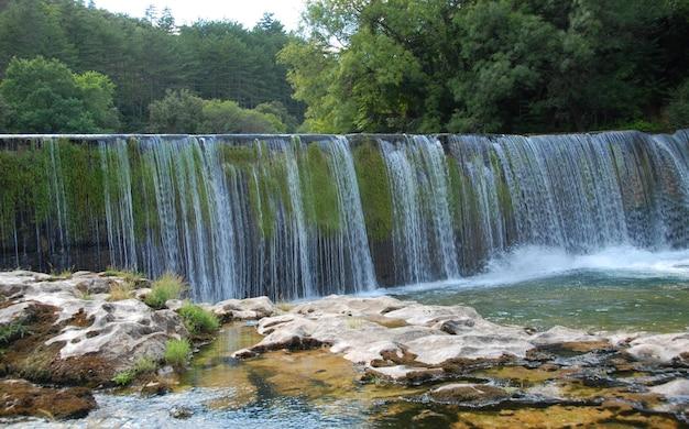 Wodospad w cevennes