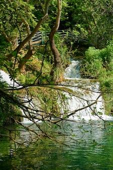 Wodospad w naturze