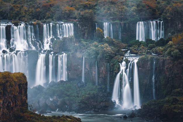 Wodospady iguazu, największe wodospady ameryki