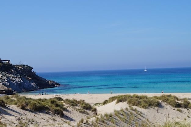 Wody plaży piasek mallorca morze zarezerwowany natura słońce
