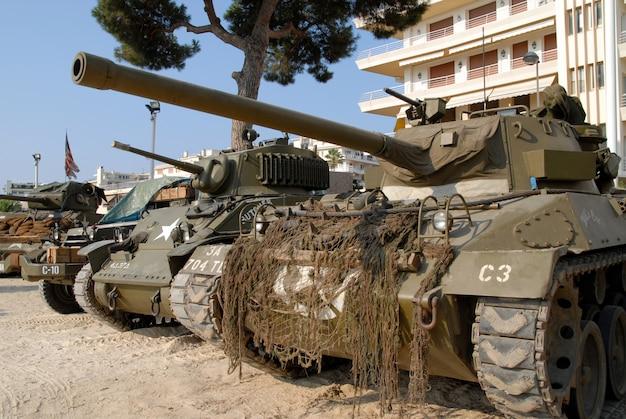 Wojny światowej dwa czołgi