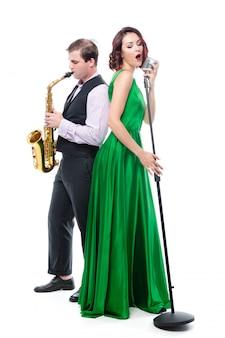 Wokalistka i saksofonistka