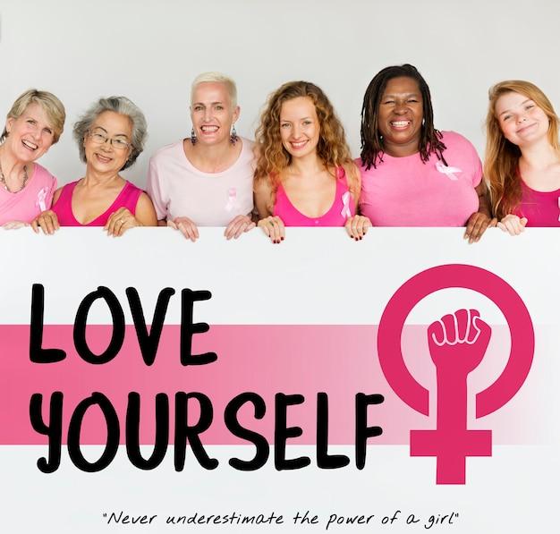 Women girl power feminizm koncepcja równych szans