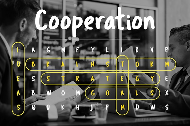 Wordsearch game word corporation biznes
