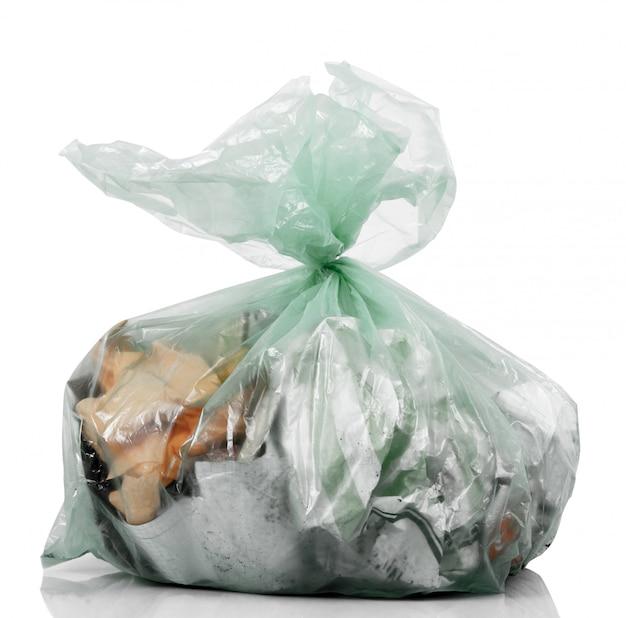 Worek pełen śmieci