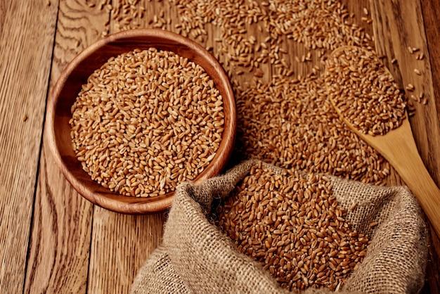 Worek zbożowy składnik naczyń kuchennych grupy organicznej