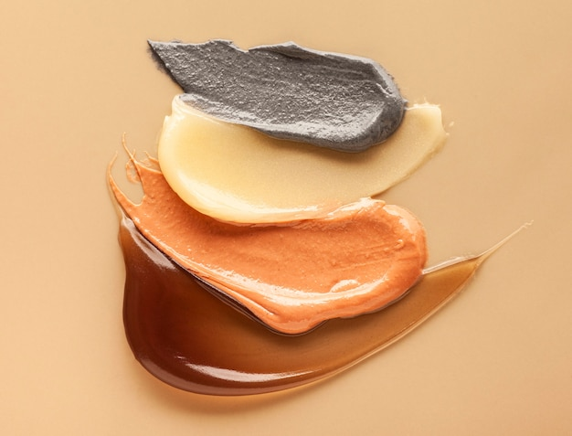 Wosk kosmetyczny do usuwania włosów tekstura tło