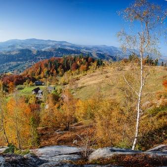 Wróżka jesień krajobraz