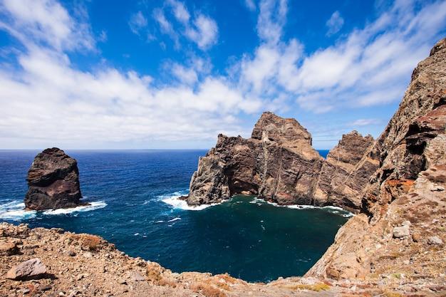 Wschodnie wybrzeże madery -