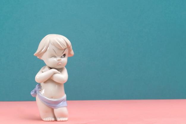 Wściekłość, obraza, rozczarowanie lub depresja na dziecko
