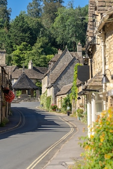 Wsie cotswolds w anglii uk