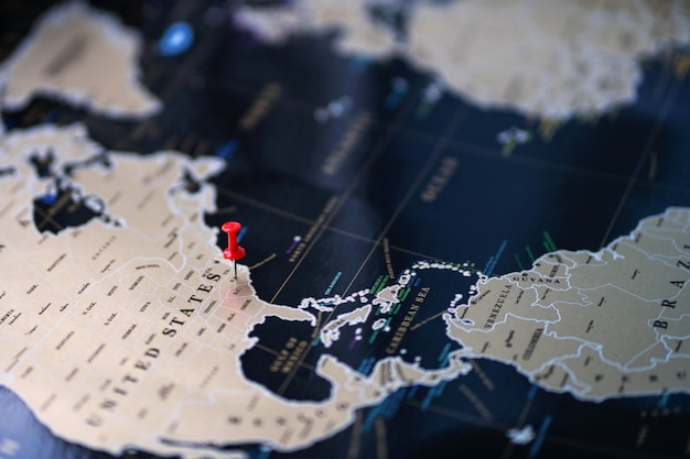 Wskaż miejsce na mapie świata. zaznacz na mapie.