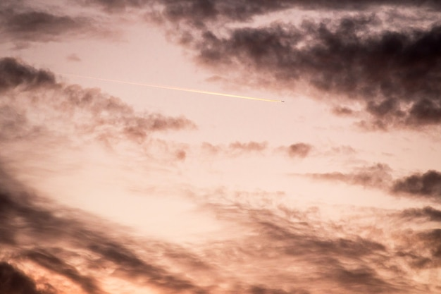 Wspaniała tekstura nieba słońca