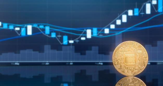 Wstępna oferta monet (ico) i kryptowaluta.