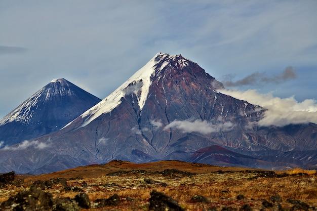 Wulkan kamczackiej doliny
