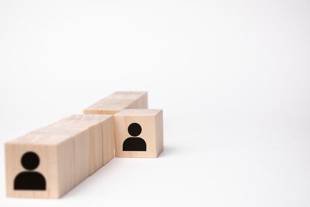 Wybitny talent wyróżnia się z tłumu i inną koncepcją. biznes
