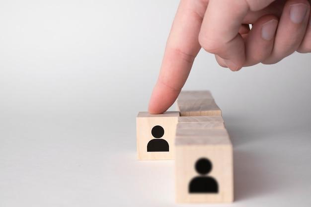 Wybitny talent wyróżnia się z tłumu i inna koncepcja