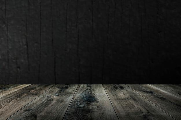 Wyblakłe drewniane deski w tle