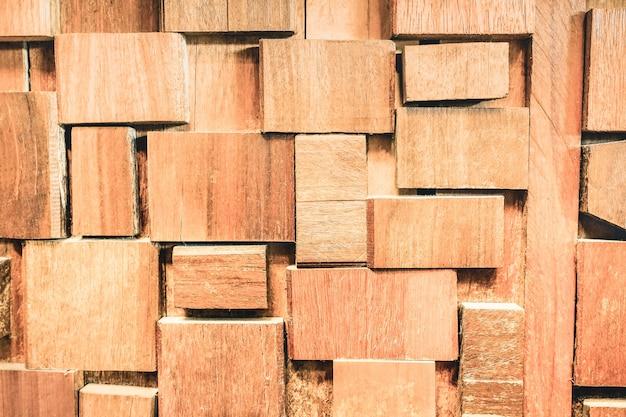 Wyblakły kamieniowane tło drewna i alternatywny materiał budowlany