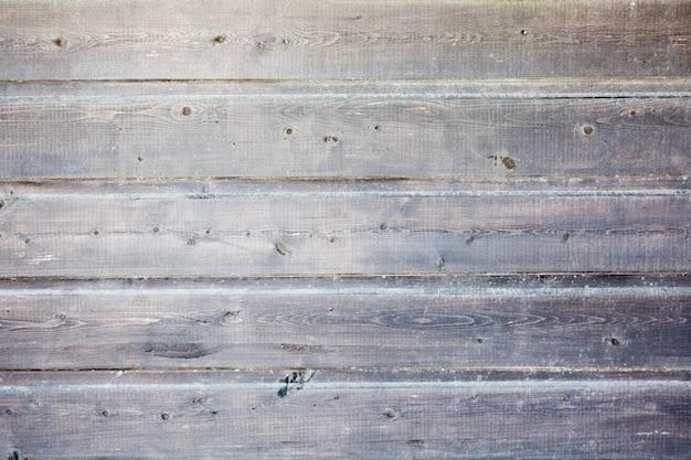 Wyblakły malowane drewniane deski.