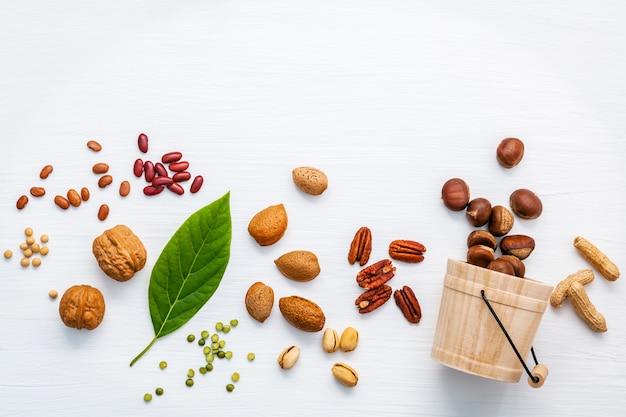 Wybór źródeł pokarmowych kwasów omega 3 i tłuszczów nienasyconych do zdrowej żywności.