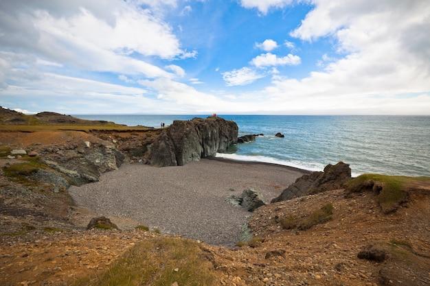Wybrzeże morza wschodniego islandii
