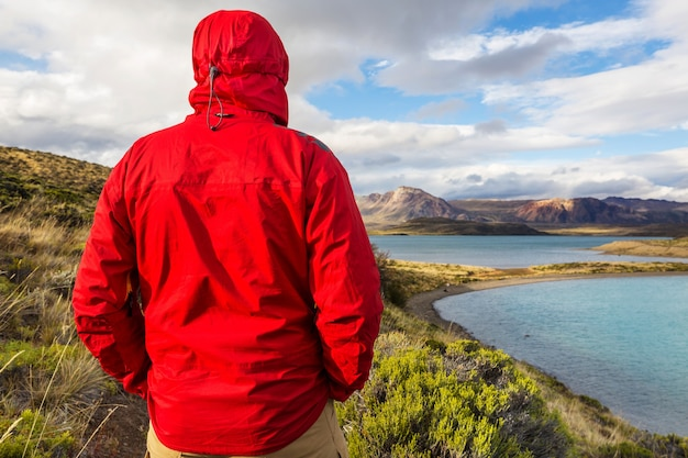 Wycieczka po górach patagonii w argentynie