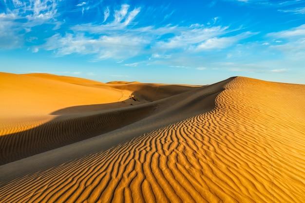 Wydmy na pustyni