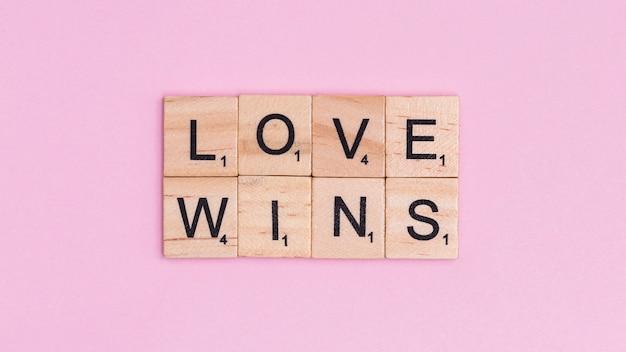 Wygrywa miłość do tekstu lgbt