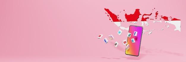 Wykorzystanie wa fb ig youtube i tiktok w indonezji na potrzeby telewizji i strony internetowej