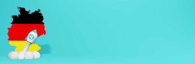 Wykres wzrostu kryptowaluty ripple xrp w niemczech dla zawartości strony internetowej