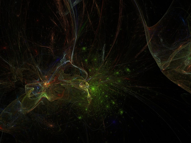 Wyobraźnia fraktalna tło obraz