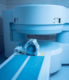 Wyposażenie medyczne. pokój mri w szpitalu.