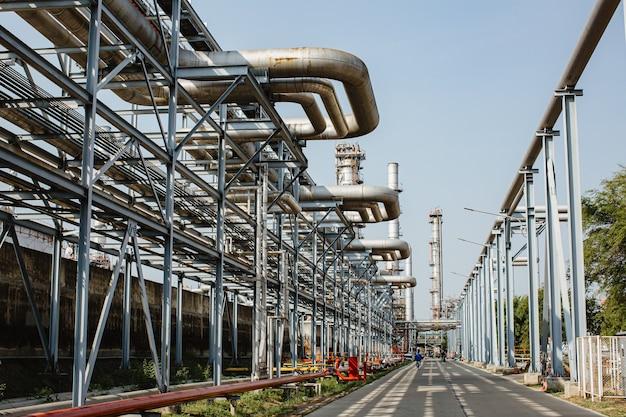 Wyposażenie rafinerii do rurociągów ropy i gazu