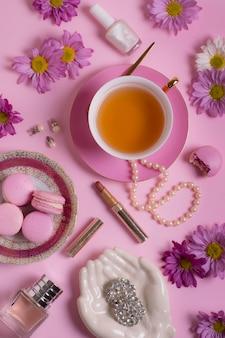Wyrafinowana aranżacja przyjęcia herbacianego
