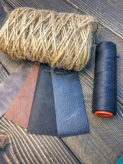 Wyroby skórzane. warsztaty do produkcji odzieży i akcesoriów.