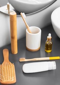 Wysoki kąt koncepcji kosmetyków ekologicznych
