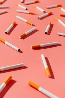 Wysoki kąt rzucić palenie