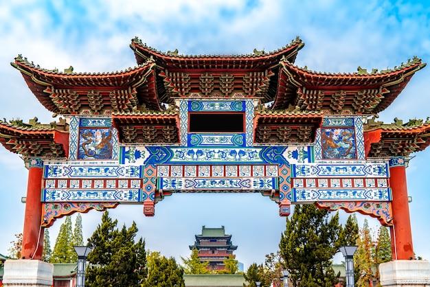 Wysoki pawilon króla pawilonu nanchang tengwang