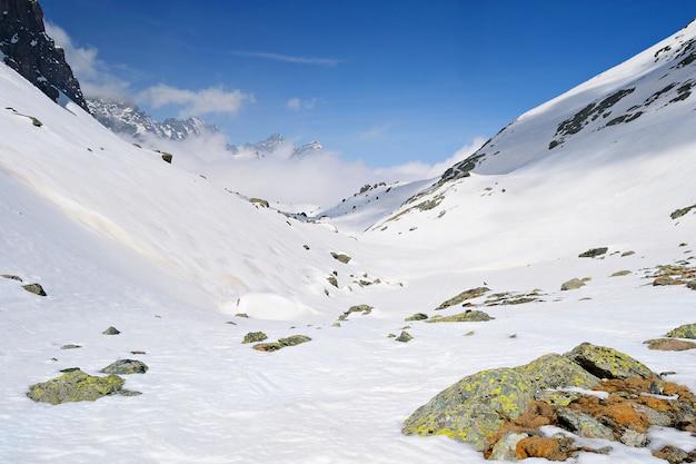 Wysokie pasmo górskie