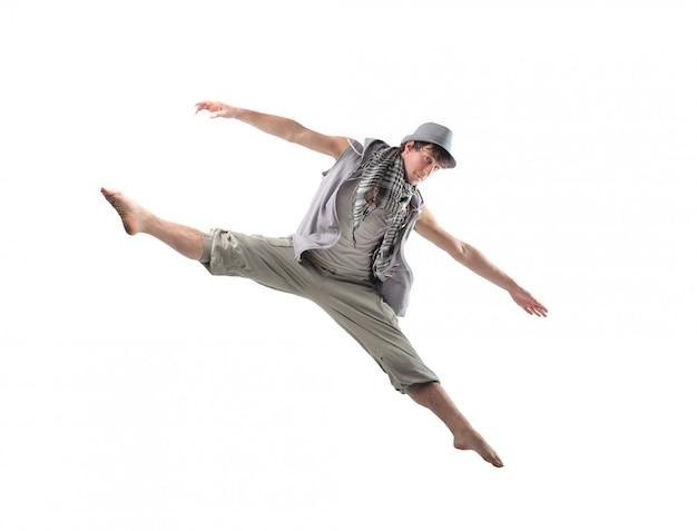 Wysokie skoki tancerza