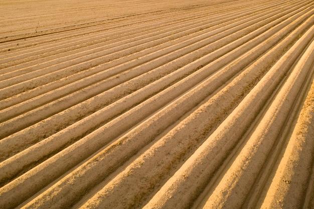 Wysokiej jakości gleba uprawna do sadzenia roślin rolniczych.