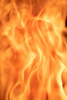 Wysokiej jakości tekstura ognia, płomienia lub wybuchu