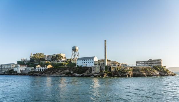 Wyspa alcatraz w san francisco
